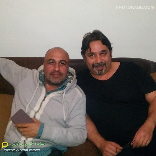 عکس بازیگر مرد داریوش سلیمی و رضا عطاران