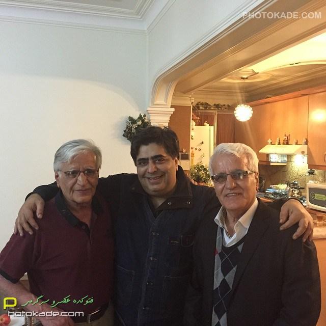 عکس بازیگر مرد رضا شفیعی جم
