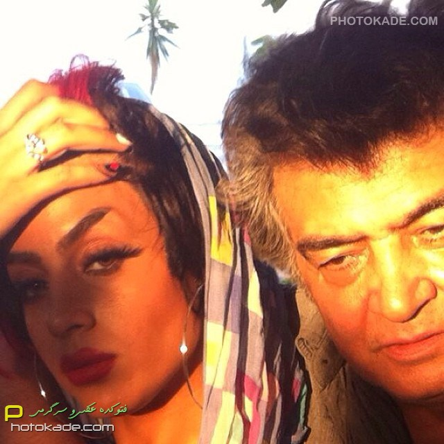 عکس بازیگر مرد رضا رویگری و همسرش