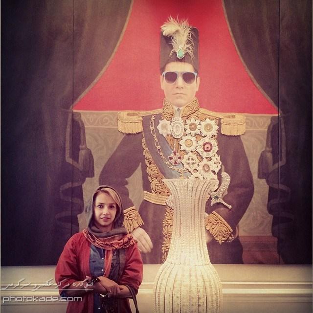 عکس بازیگران زن ایرانی : شبنم قلی خوانی