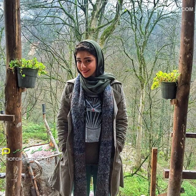 عکس جدید هستی مهدوی بازیگر زن خوشگل ایرانی