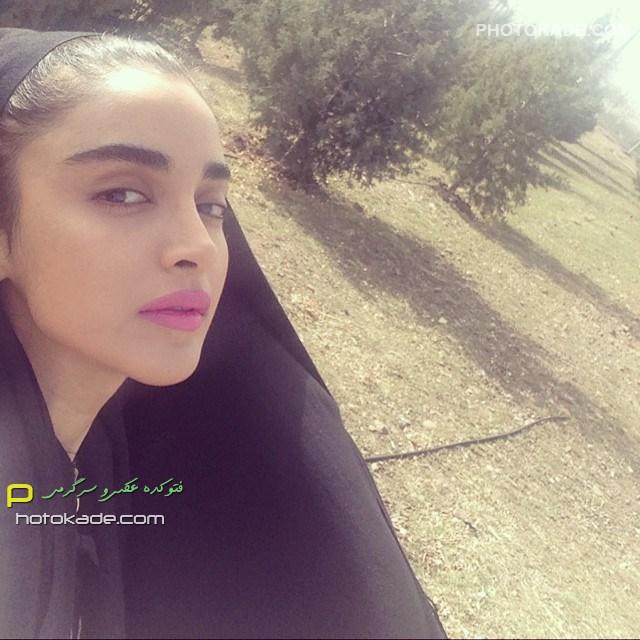 عکس جدید الهه حصاری بازیگر زن خوشگل ایرانی