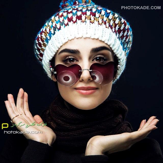 عکس جدید هانیه غلامی بازیگر زن خوشگل ایرانی