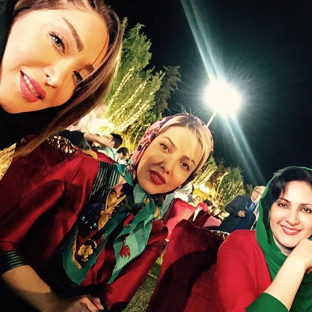 عکس فاطمه گودرزی،لیلا اوتادی و سارا منجزی پور
