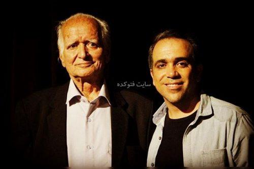 عکس امیر کربلایی نژاد و پدرش