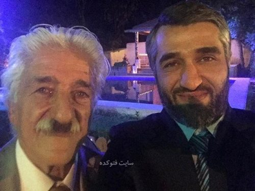 عکس پژمان جمشیدی و پدرش