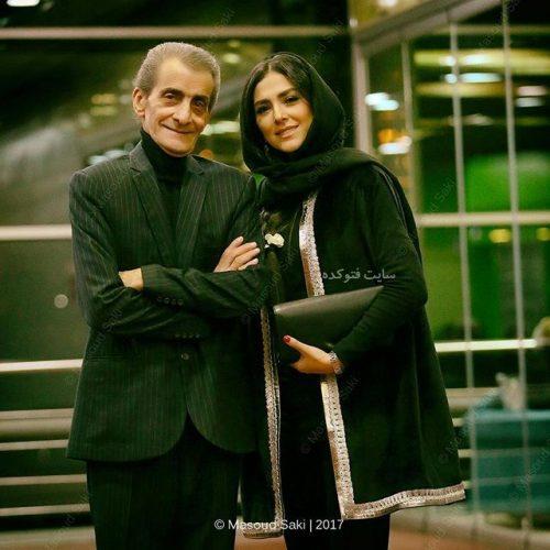 عکس هدی زین العابدینی و پدرش