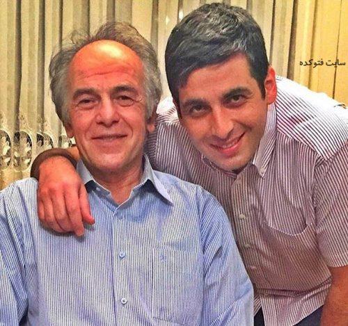 عکس حمید گودرزی و پدرش