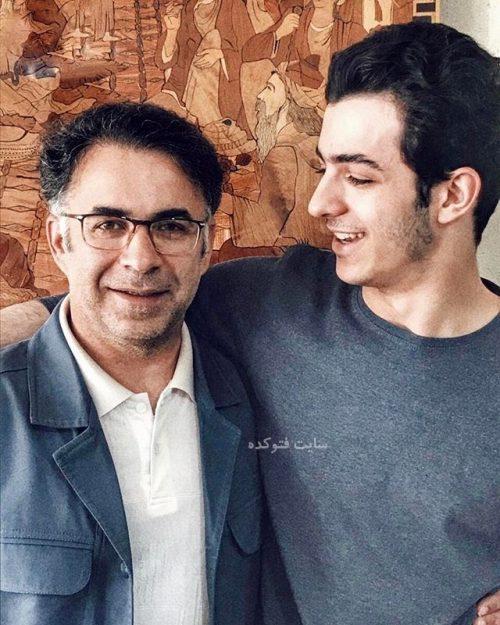 عکس علی شادمان و پدرش