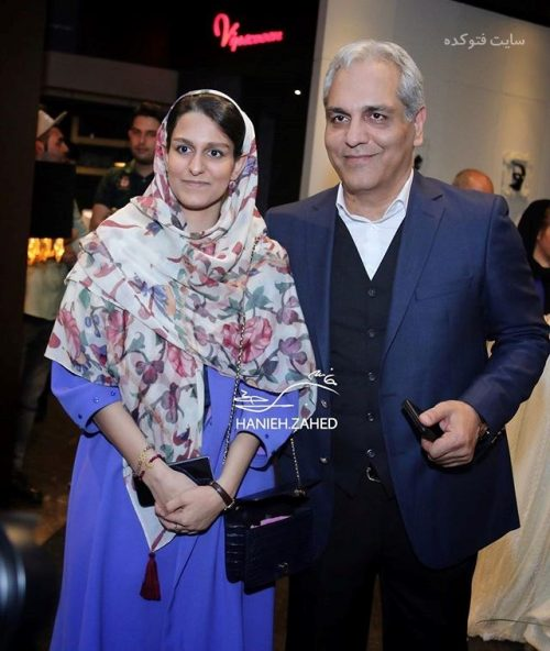 عکس مهران مدیری و دخترش شهرزاد