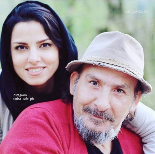 عکسمحمدرضا داوود نژاد و دخترش مونا