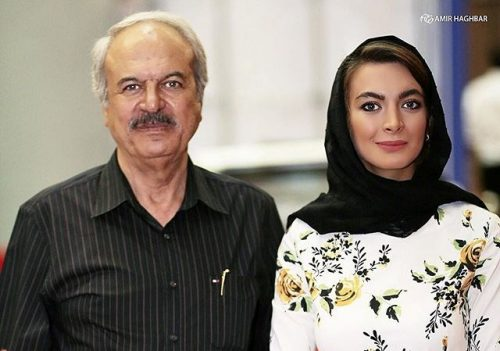 عکس غلامرضا نیکخواه و دخترش نیلوفر