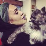 حیوانات خانگی بازیگران | عکس سگ و گربه بازیگران ایرانی