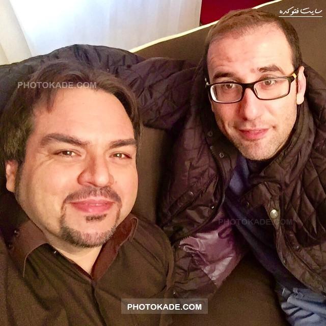 عکس جدید بابک نهرین و شهرام قائدی