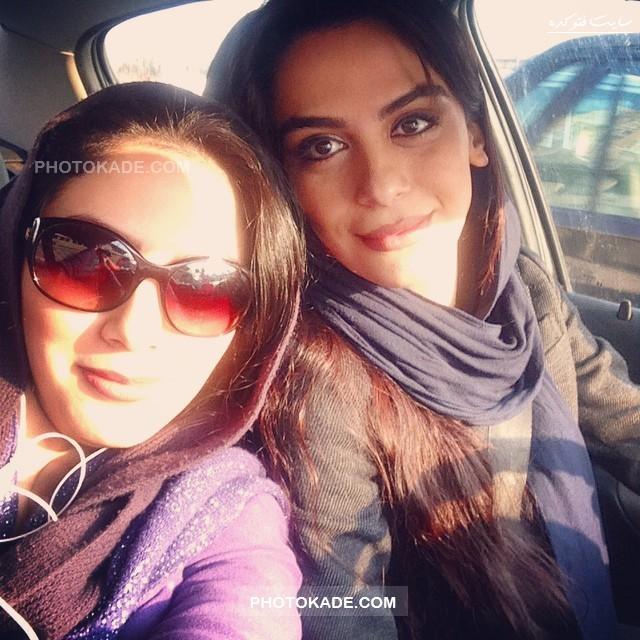 عکس جدید مرال و مونا فرجاد