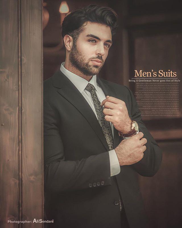 عکسهای مدلهای مرد ایرانی