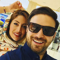 عکس های بابک جهانبخش و همسرش (دوم) + ناگفته ها