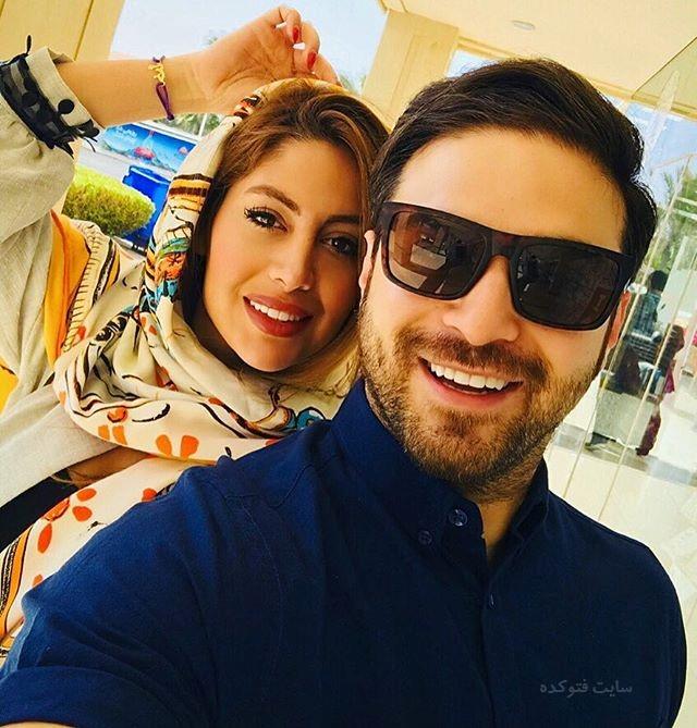 عکس بابک جهانبخش و همسر دومش