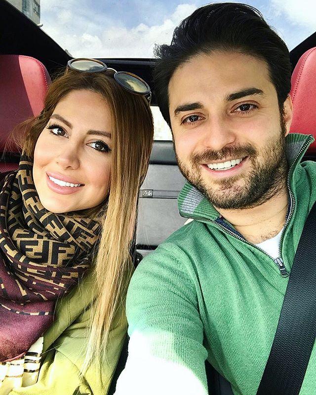 عکس بابک جهانبخش و همسرش