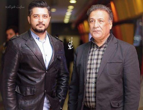 عکس عبدالرضا اکبری و پسرش پندار اکبری + بیوگرافی و عکس خانوادگی