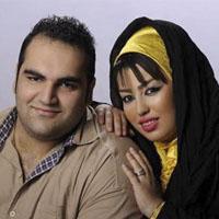 بهداد سلیمی و همسرش آلما نصرتی + زندگی شخصی
