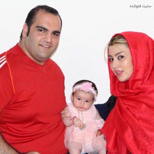 عکس بهداد سلیمی و همسرش آلما نصرتی