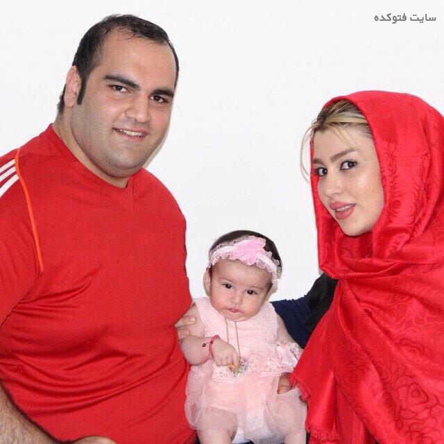 عکس بهداد سلیمی و همسرش آلما نصرتی + بیوگرافی
