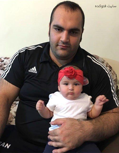 عکس بهداد سلیمی و دخترش سلین