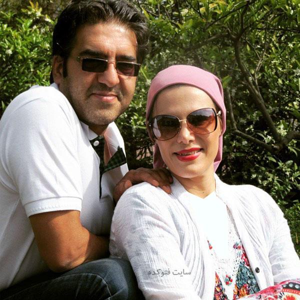 عک بیوگرافی بهناز بستان دوست و همسرش