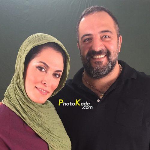 عکس منتسب به بهناز جعفری و همسرش که کذب است