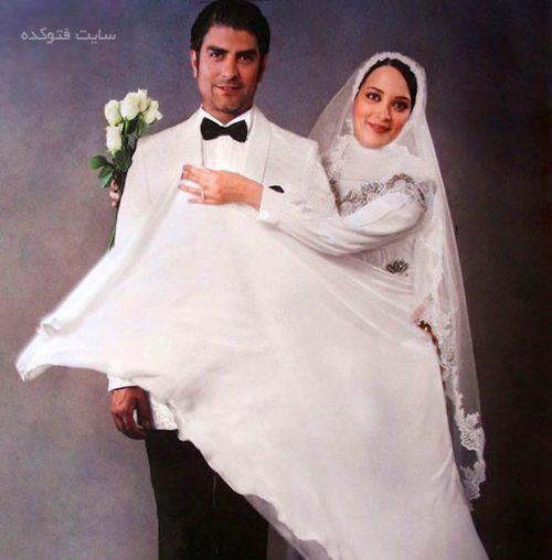 عکس عروسی بهنوش طباطبایی و مهدی پاکدل