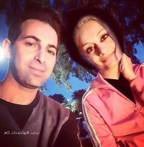 عکس بهروز مقدم استیج و همسرش نازنین بهاری + بیوگرافی