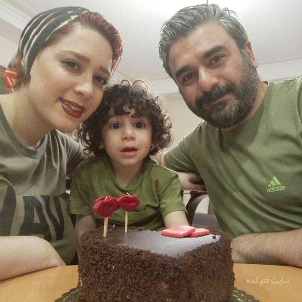 عکس های بهشاد چنگیزی و همسرش نگار سلیمانی + بیوگرافی