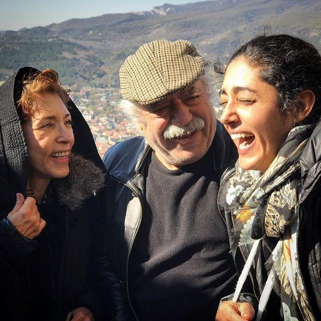 عکس بهزاد فراهانی و گلشیفته و همسرش