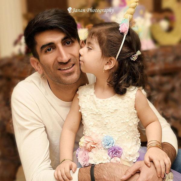 عکس علیرضا بیرانوند و دخترش بارانا + زندگینامه