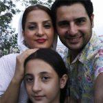 بهنام قربانی و همسرش با عکس بیوگرافی