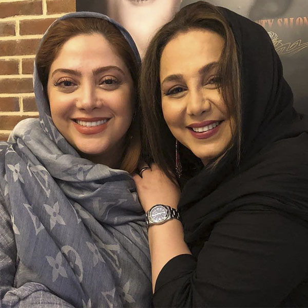عکس بهنوش بختیاری در کنار بازیگر زن