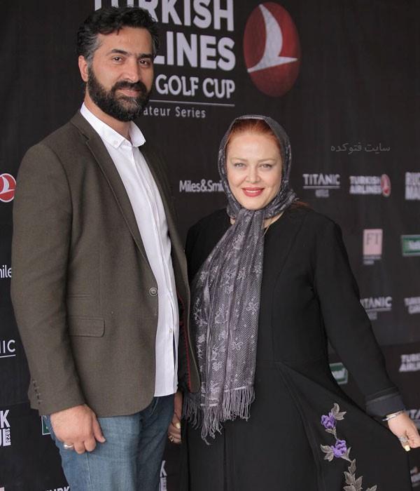 عکس امیر خسرو عباسی همسر دوم بهاره رهنما و داستان زندگی و نحوه ازدواج