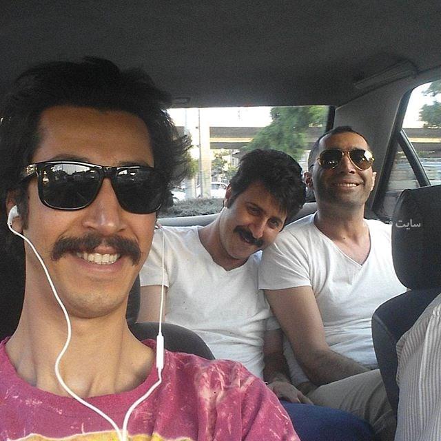 عکس های بهرام افشاری قدبلندترین بازیگر مرد + بیوگرافی کامل