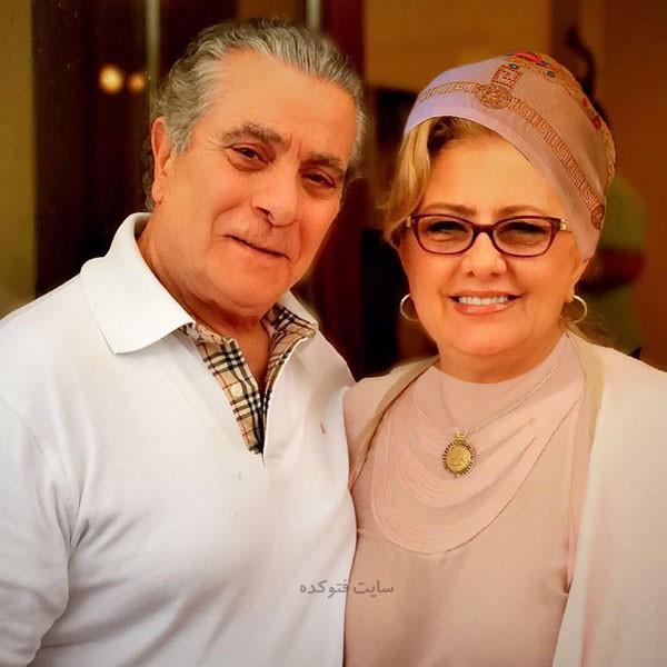عکس همسر بهروز وثوقی کتایون امجدی