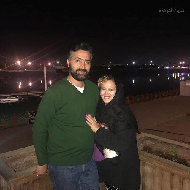 عکس بهاره رهنما و همسرشامیرخسرو عباسی پس از لاغری