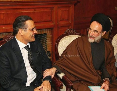 بهزاد خداویسی و سید محمد خاتمی