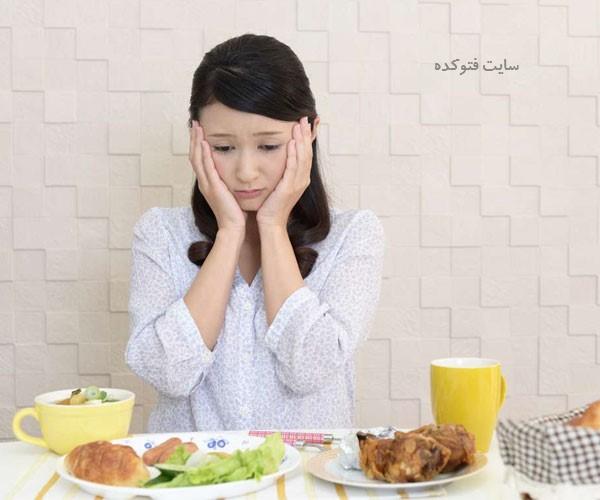 علت بی اشتهایی به غذا خوردن چیست