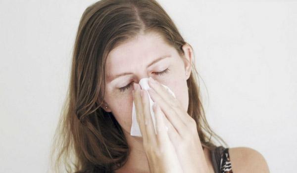 گرفتگی بینی با درمان خانگی