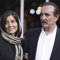 عکس بیوک میرزایی و همسرش