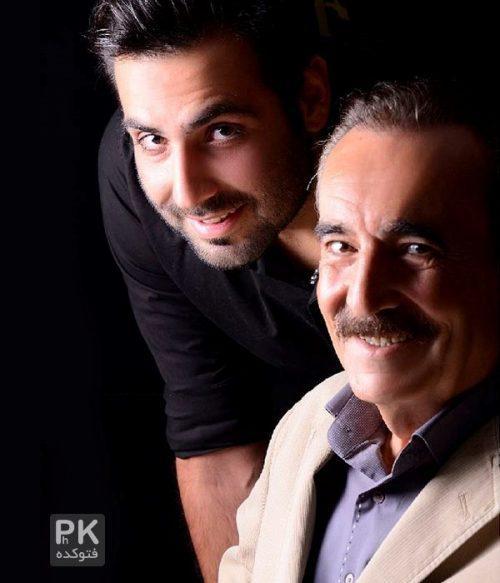 عکس بیوک میرزایی و پسرش + بیوگرافی