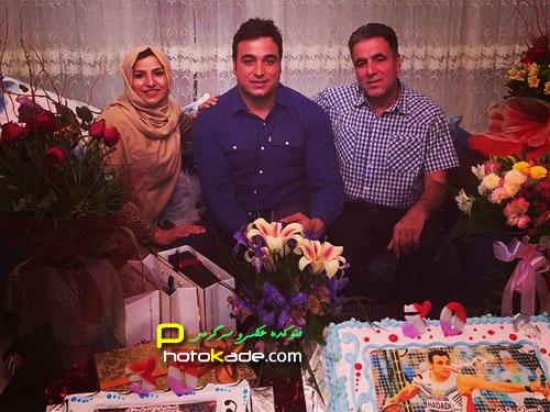 عکس های تولد احسان حدادی و عکس پدر و مادر و خواهرش,عکس جدید احسان حدادی,عکس خواهر احسان حدادی,عکس پدر و مادر احسان حدادی,تولد احسان حدادی ورزشکار ایرانی