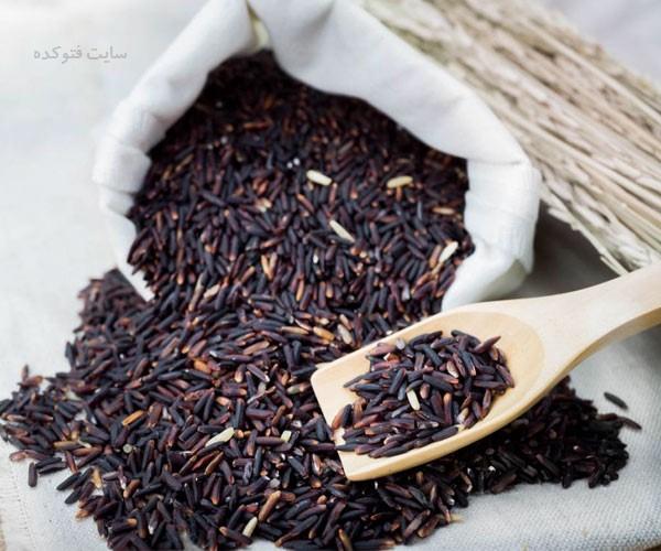خاصیت برنج سیاه برای پوست و مو