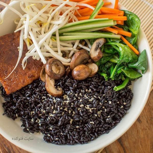 برنج سیاه برای لاغری چیست