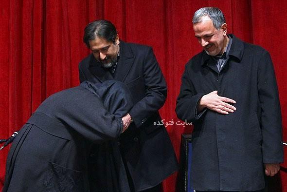 حسام الدین سراج خواننده و بوسه همسرش